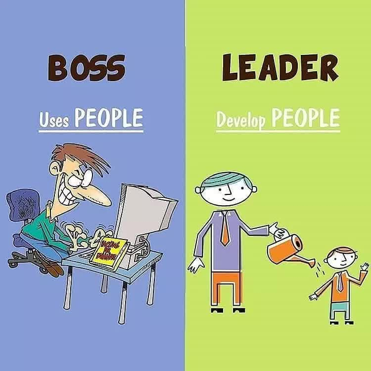 LEADER BOSS Develop PEOPLE Uses PEOPLE
